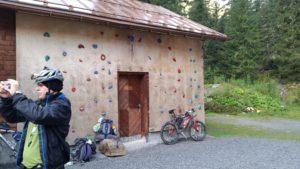 Nebenraum der Konstanzer Hütte