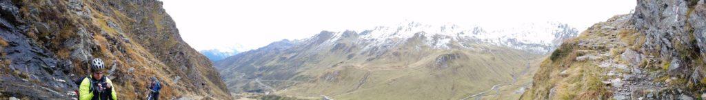 Panorama Schneebergscharte