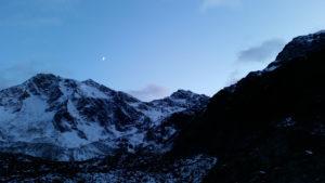 Nachthimmel beim Eisjöchl