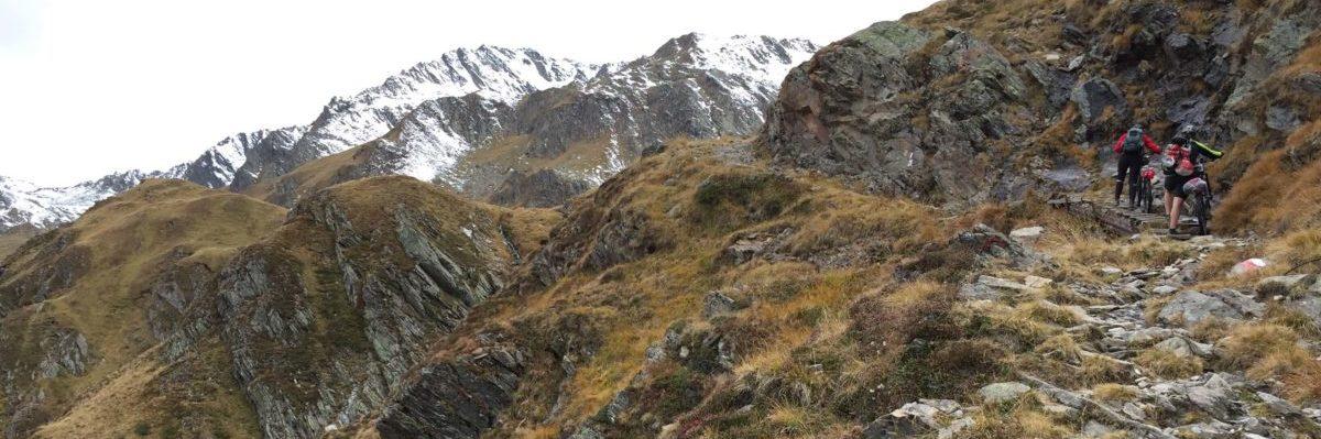 Aufstieg zur Schneebergscharte