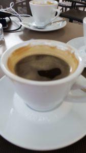 Kaffeepause auf dem Alpencross