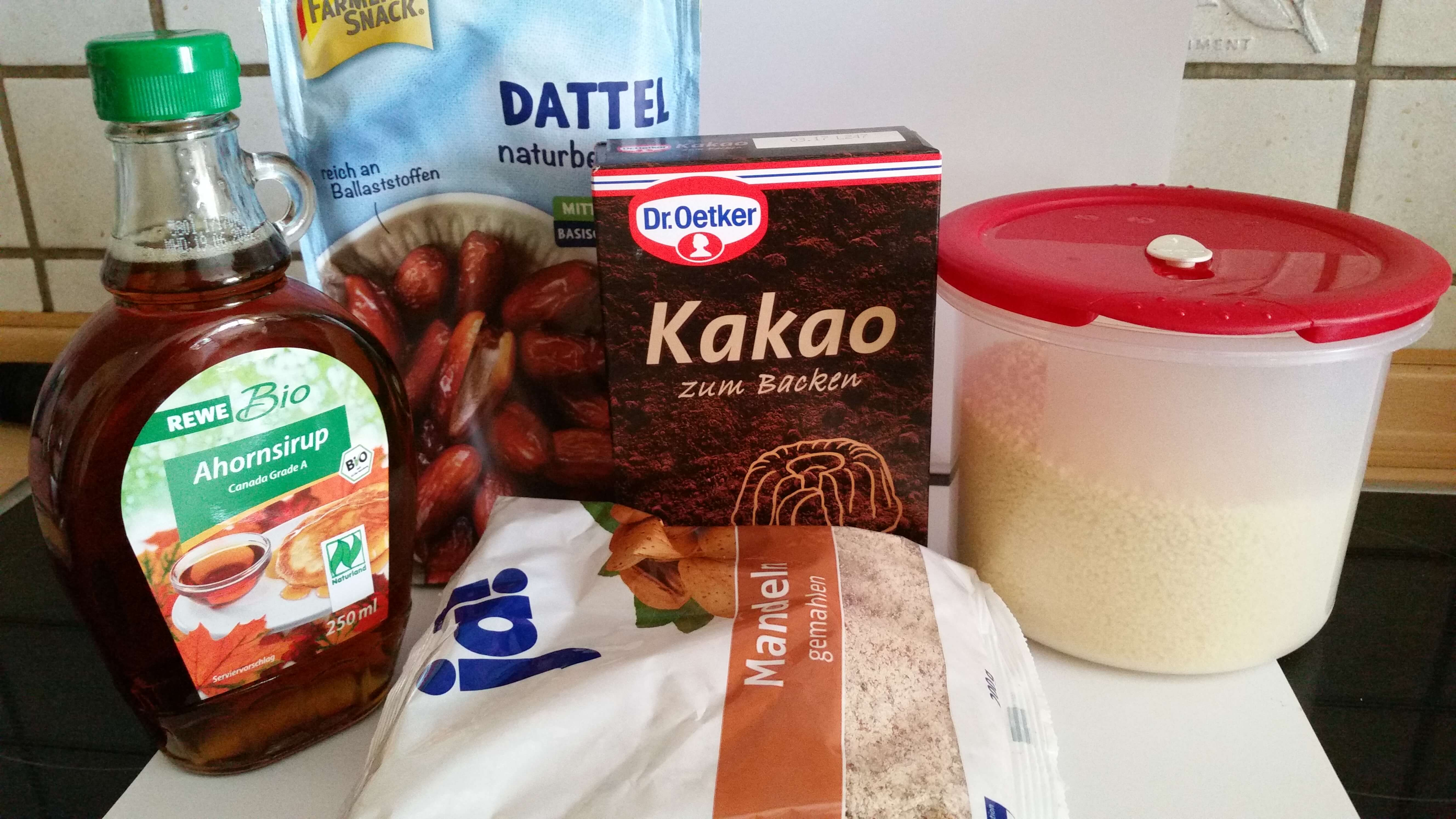 Ernährung Alpencross: Zutaten Energieriegel